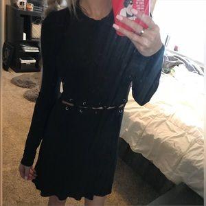 AE soft & sexy cutout-waist dress